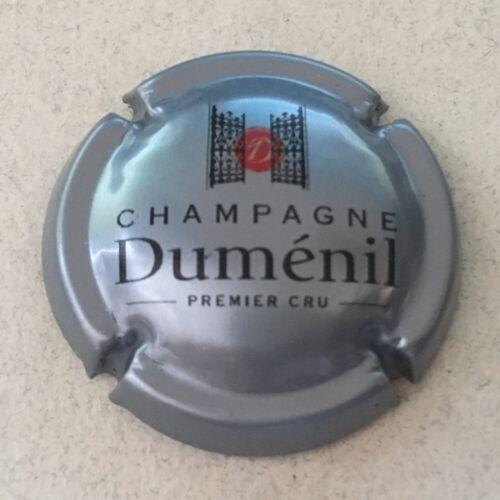 Capsule de champagne DUMENIL 39c. Gris-bleuté noir et rouge