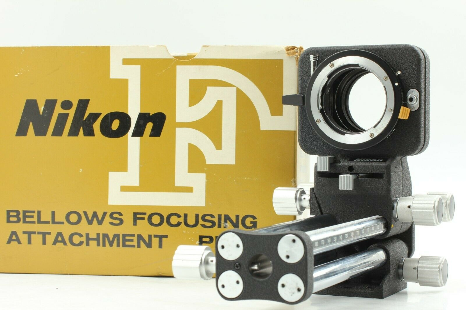 [ Excellent+++++ in Box ] Nikon PB-4 Bellows Focusing Attachment From JAPAN