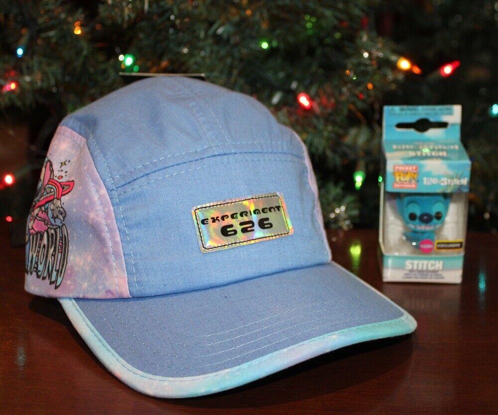 Disney Lilo and Stitch: puntada 626 exclusivo sombrero y bolsillo Flocado POP!
