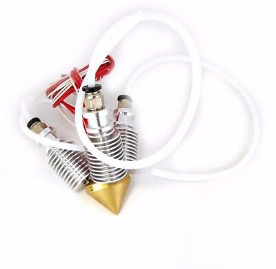 0.4mm//1.75mm//3in1 out Diamond Extruder Reprap 3D Printer Multi Color Hot End