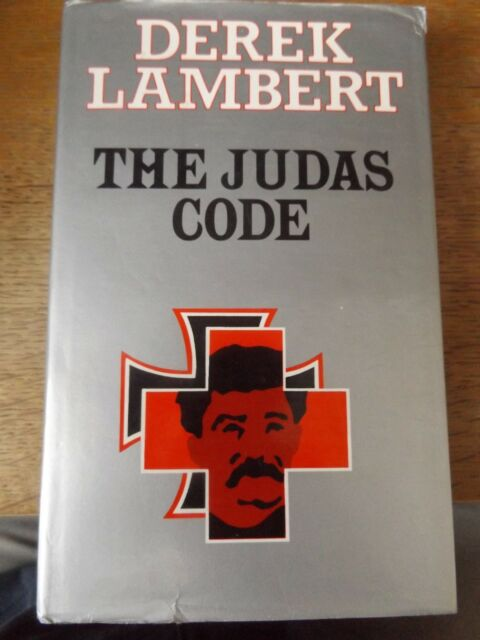 THE JUDAS CODE BY DEREK LAMBERT 1983 HARDBACK BOOK