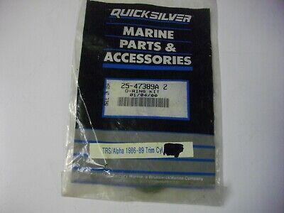New Mercury Mercruiser Quicksilver Oem Part # 25-47389A 2 O Ring Kit