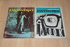 lot 2 revues Midi/Minuit Fantastique - 1967 et 1979 / n°15 16 et 23