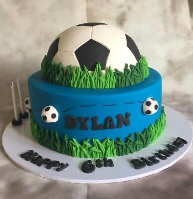 Superb Soccer Ball Template Cookie Fondant Cutter Birthday Cake Funny Birthday Cards Online Inifodamsfinfo