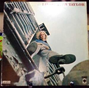 LIVINGSTON TAYLOR Self-Titled Album Released 1970 Vinyl/Record  Collection USA