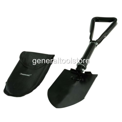 FOLDING SNOW SHOVEL ALL METAL STURDY TOOL IDEAL FOR STORING IN CAR BOOT