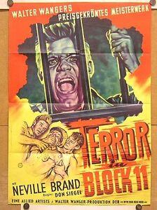 TERROR-IN-BLOCK-11-Pl-039-54-NEVILLE-BRAND-DON-SIEGEL