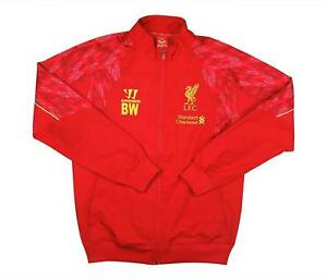 Liverpool 2013-14 Authentic Training Jacket (eccellente) S Soccer Jersey