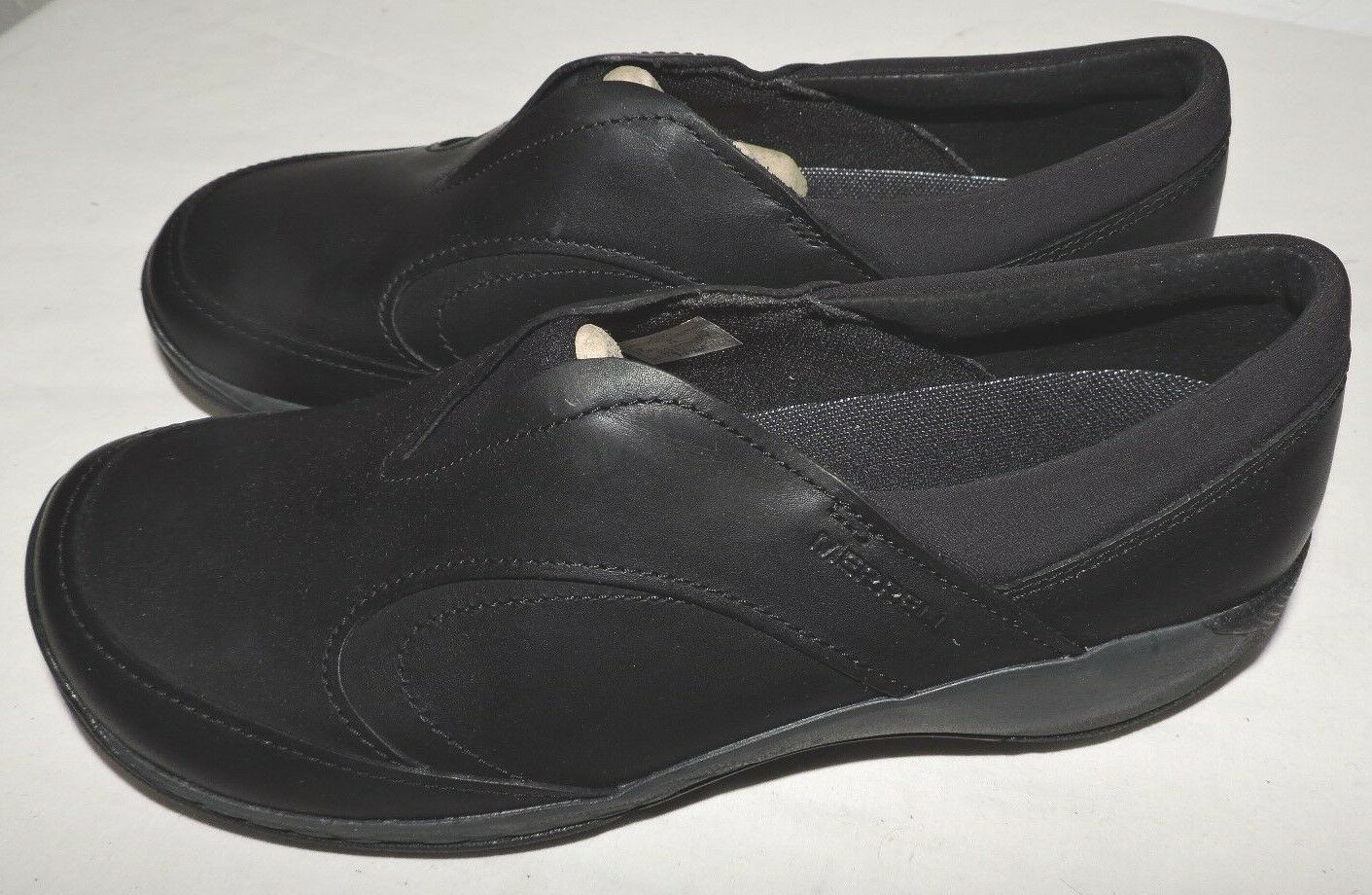 Merrell Wouomo Encore Q2 Moc LTR Fashion scarpe da ginnastica, nero, 8 M US scarpe CLOG