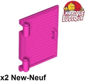 Lego 2x Black 1 x 2 x 2 2//3 Twisted Window Pane
