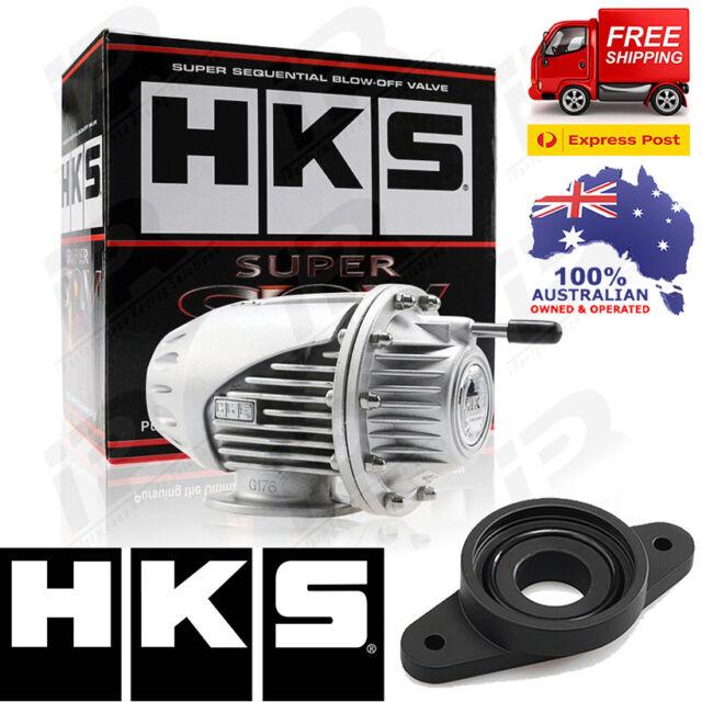 HKS SQV SSQV 4 IV BOV Turbo Blow Off Valve Fits Nissan Juke Turbo SILVER