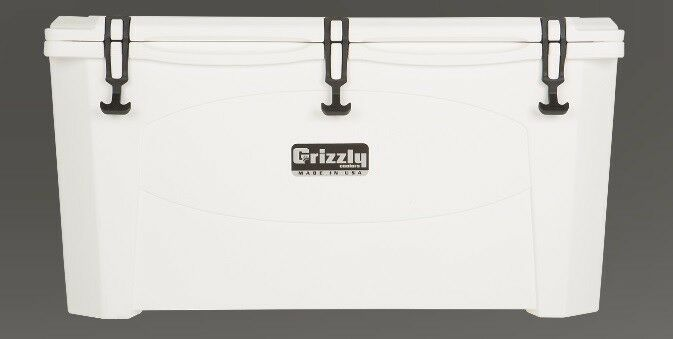 NEW Grizzly G100_W 100QT Cooler with redoTough Molded Construction - White