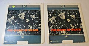The-Grapes-of-Wrath-2-Disc-set-20th-Century-Fox-CED-Video-Disc-videodisc-movie