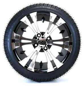 Details about Golf Cart Wheels and Tires Combo - 14
