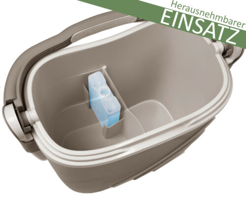 Ondis24 Kühlbox Thermobehälter Isotruhe Isobox Kühltruhe Oceanic outdoor taupe