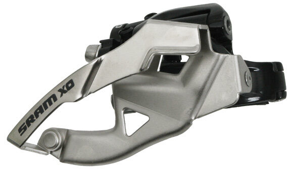 SRAM X0 2x10 Speed 31.8 34.9mm MTB AM 38T Front Derailleur Low Clamp Top Pull