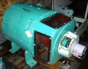 dc motor general electric 125 hp 1150 2000 rpm 480 On 2000 hp electric motor