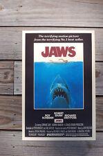Jaws Lobby Card Movie Poster Roy Scheider Richard Dreyfuss