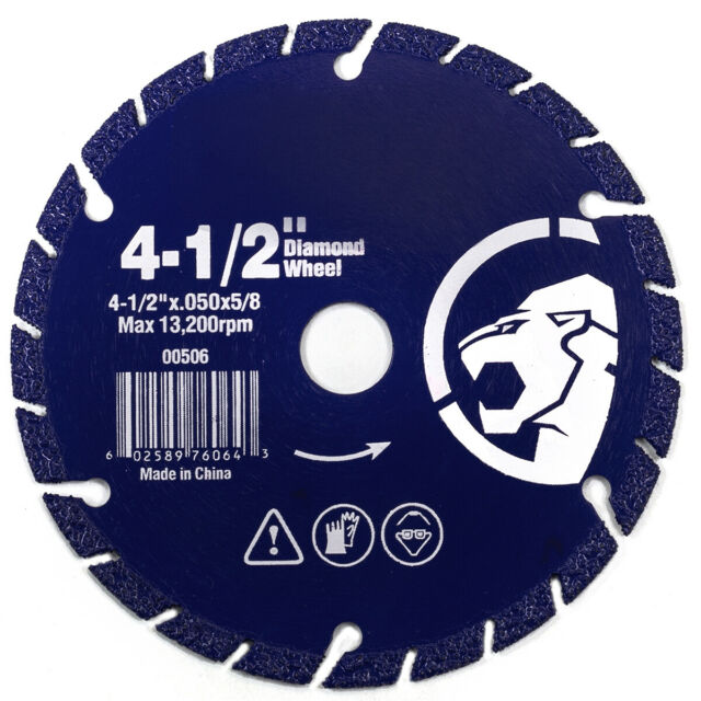 6 SIX 5 x 1//16 x 7//8 Cutting Discs Steel Stainless Cut off Wheel MADE IN GERMANY