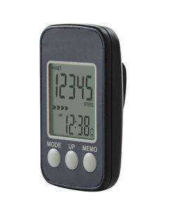 K&R Schrittzähler Distance Pro 7 Tage-Speicher Gürtelclip Gewicht 20 g NEU