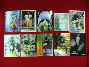 BRETT-FAVRE-10-DIFF-FOOTBALL-CARDS-GREEN-BAY-PACKERS-MUST-SEE-GREAT-CONDITION