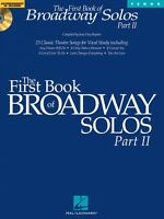 The First Book Of Broadway Solos Part Ii Tenor Edition Vocal 000001113
