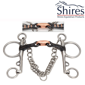 Shires Double Jointed Sweet  Iron Pelham  the newest