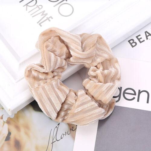 Fashion Women Scrunchies Elastic Ropes Lady Hairband Ponytail Holder Scrunchies