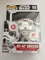 Funko Pop Star Wars Walgreens Exclusive At-at Driver (star Wars 92)