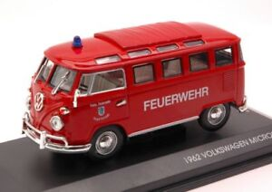 Volkswagen-VW-Microbus-Feuerwehr-1-43-Model-LUCKY-DIE-CAST