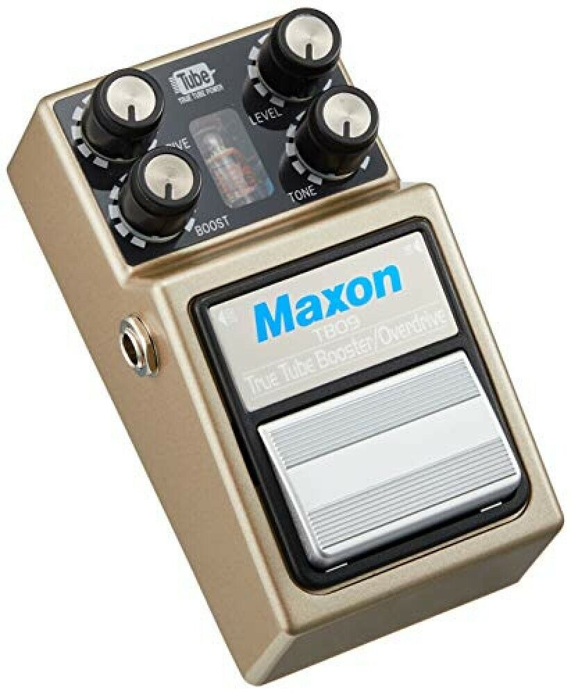 Maxon TBO9 Tube Booster Overdrive Guitar Effects Pedal New F S