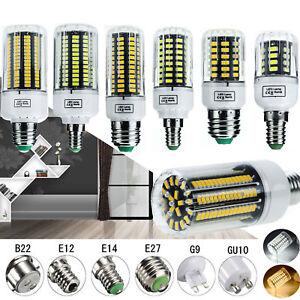 LED-Corn-Bulb-Light-E12-E14-E27-B22-Lamp-5730-SMD-30-165W-Equivalent-110V-220V