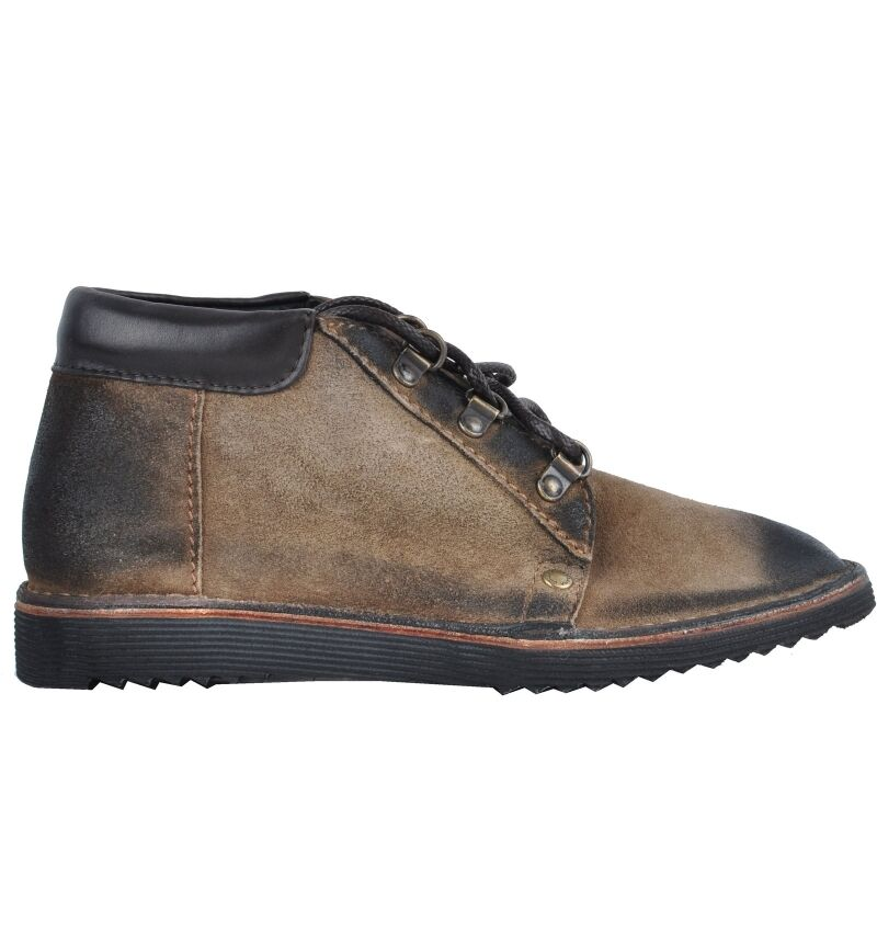 Dolce & gabbana leather wild stefeletten shoes braun brown boots 03035