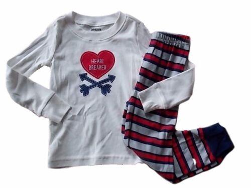 NWT Boy/'s Gymboree Heartbreaker shirt /& pants pajamas gymmies ~ 12-18 months 3