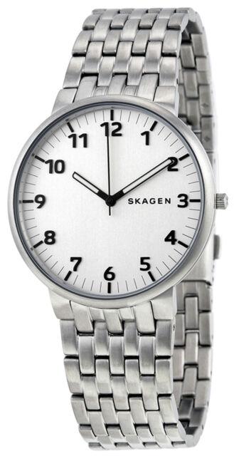 Skagen SKW6200 Ancher Silver Dial Stainless Steel Men's Watch