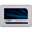 Crucial-MX500-SSD-250GB-2-5zoll-Micron-3D-TLC-SATA600-7mm Indexbild 1