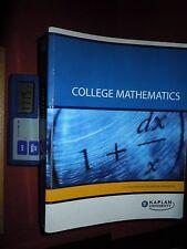 2008 Custom 2nd Ed. for Kaplan U - College Mathematics w/ Video CD by Martin-Gay
