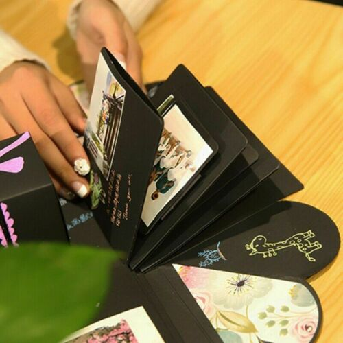 Caja De Regalo De Boda Caja de explosión sorpresa Caja creativo álbum de fotos Adhesivo para GN8