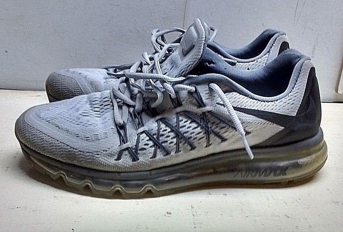 Nike air max uomini grigio - blu il merletto di scarpe da ginnastica atletica in scarpe da trekking 11 m 45