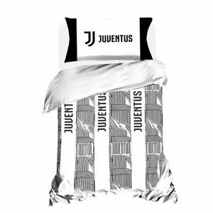 Copripiumino Letto Una Piazza E Mezza.Parure Copripiumino F C Juve Juventus Ufficiale Letto Una Piazza
