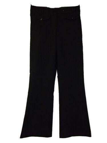 NUOVI Sandali Donna Ex M /& S Nero Bootcut Smart Pantaloni da lavoro tragitto dritto SZ 8-12