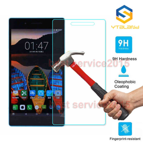 TB-7703F//X Premium Tempered Glass Screen Protector For Lenovo Tab 3 7 Plus 9H