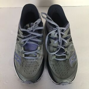 analyse Own I agree  Saucony Womens Size 9.5 Triumph Everun Isofit Gray Tennis Running Shoes |  eBay
