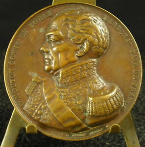 Medal-Georges-Sheep-Marshal-Earl-of-Lobau-Borrel-Ap-Dantan-1838-Medal