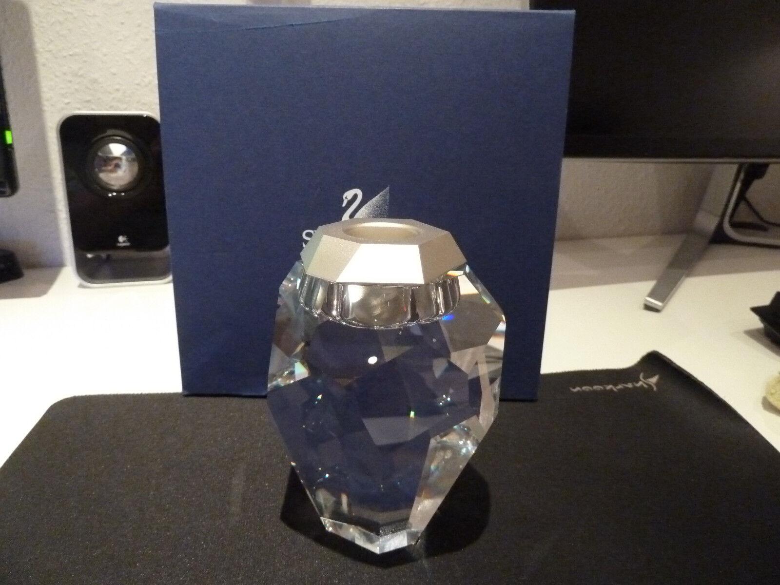 Swarovski candelabro silex Clear con embalaje original, A. P 2009, rareza