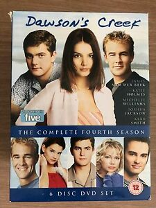 Dawson-039-s-Creek-Season-4-DVD-Box-Set-Teen-Romance-TV-Series-w-Michelle-Williams