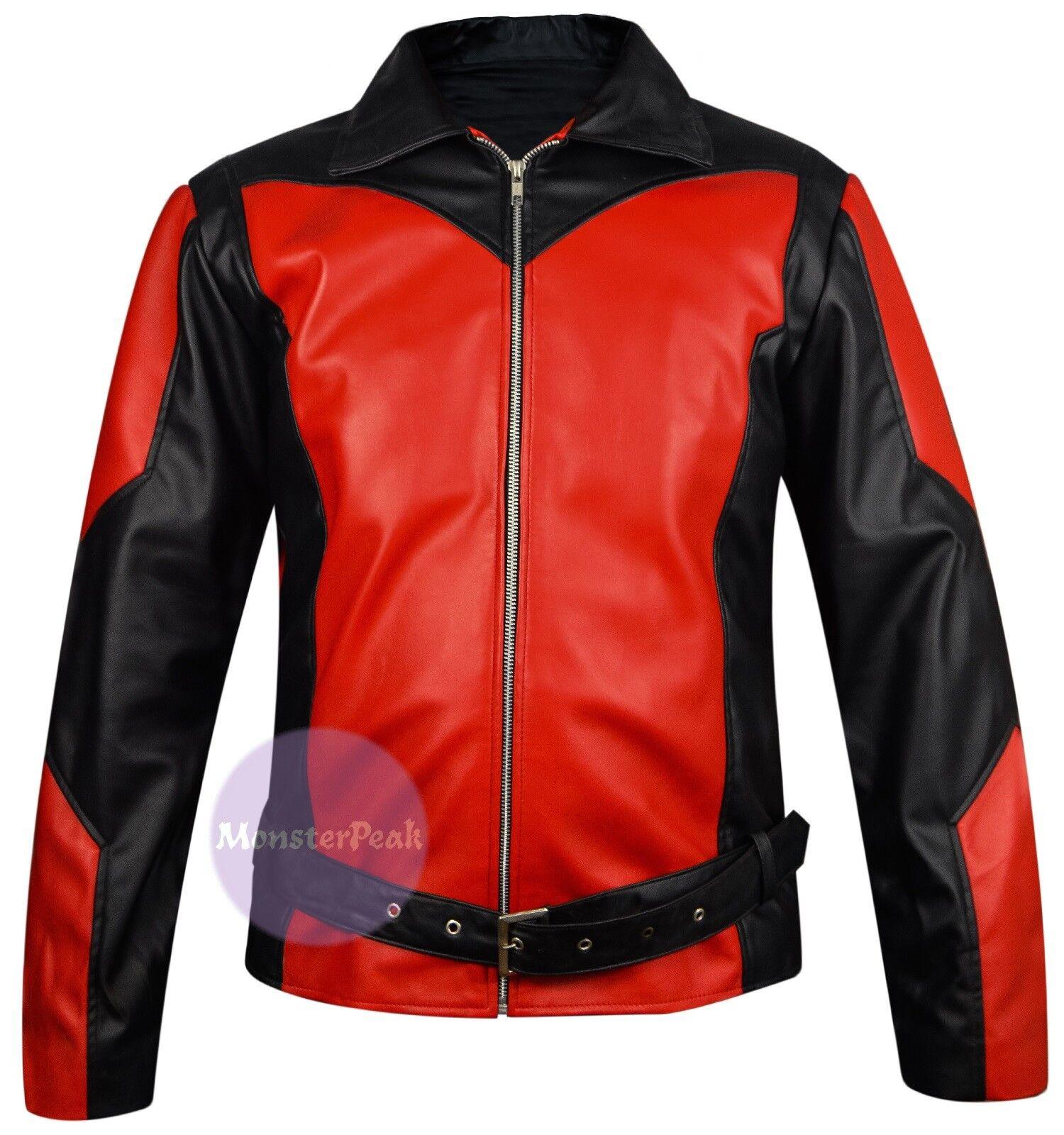 Marvel Comics Ant Man Paul Rudd Leather Jacket, XXS - 5XL