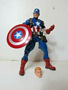 Marvel-Legends-infinite-series-3-pack-Captain-America-6-034-figure-Target-exclusive