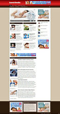 Insomnia Remedies Website Amp Blog With Affiliates And Free Domain Hosting