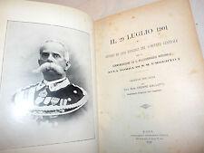 Gallotti: Commemorazione Pellegrinaggio Tomba Umberto I 29 Luglio 1902 ricordi